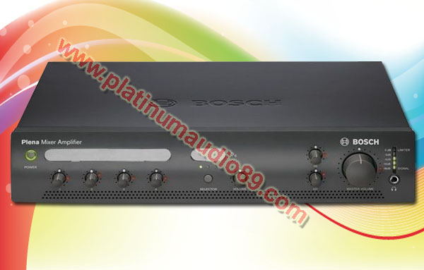 Bosch mixer amplifier ple 1 ma120 eu 120 watt pa system public address