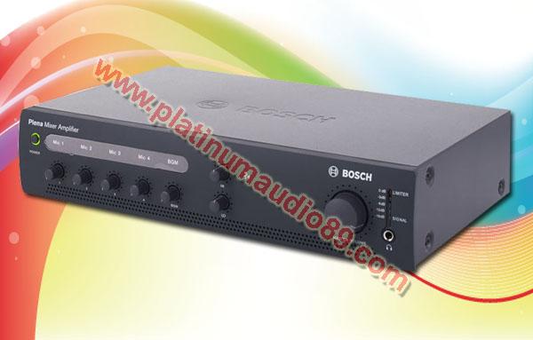 Bosch mixer amplifier ple 1 me120 eu 120 watt pa system