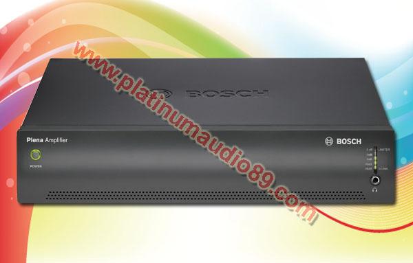 Bosch plena power amplifier booster ple-1p120-eu 120 watt pa system
