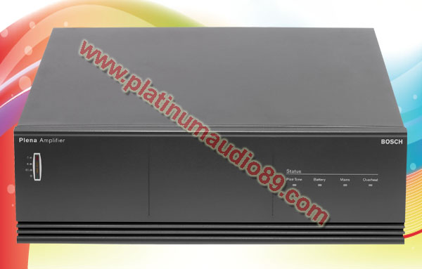 Bosch power amplifier booster lbb1938 output 480 watt pa system
