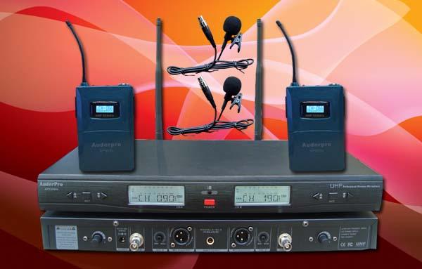 mic wireless auderpro ap929wm LL digital 2 jepit clip on