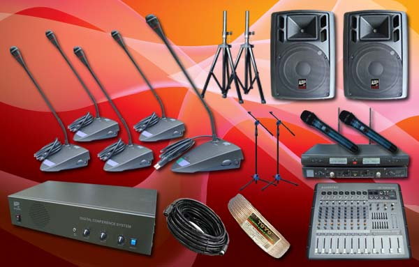 paket conference 4 10 mic rapat conference auderpro ap808mc sound system