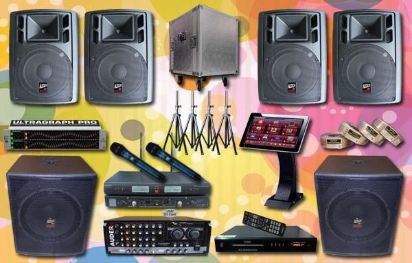 paket karaoke 1a mesin lagu jual pasang  sound system