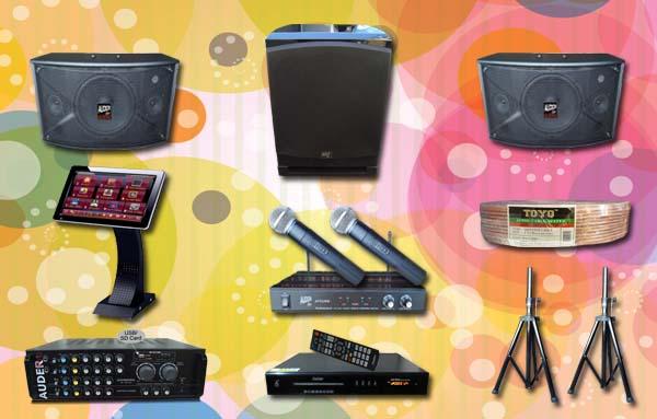 paket karaoke 8 mesin lagu sound system room komersil