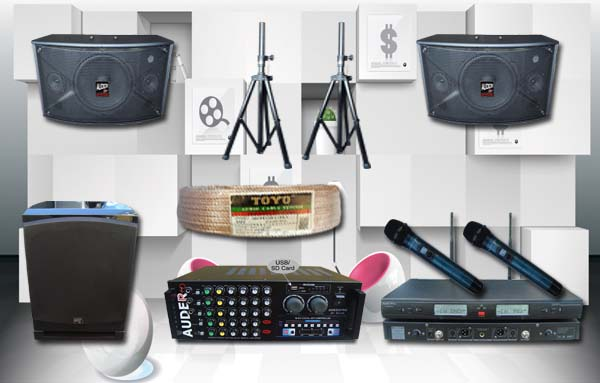 paket karaoke d auderpro bmb sound system karaoke sound system karaoke