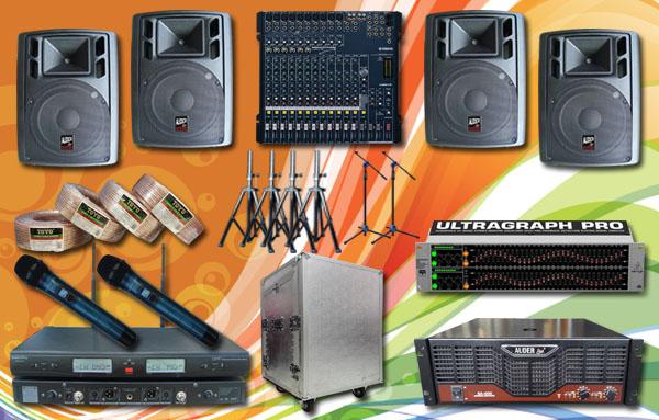 paket meeting besar 5 yamaha auderpro sound system jbl mackei samson huper