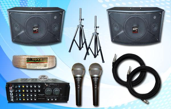paket meeting kecil 10 auderpro gambar banner sound system