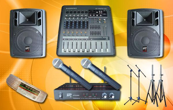 paket meeting sedang 10 auderpro daftar harga sound system upacara