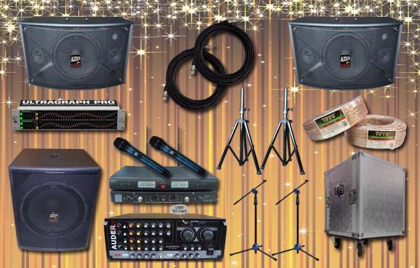 paket multi audio 4 auderpro supplier sound system jakarta