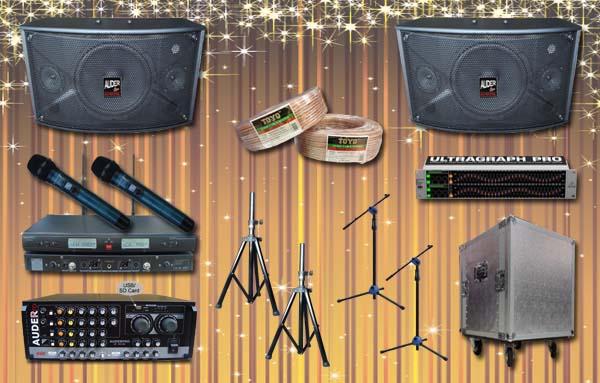 paket multi audio 7 auderpro toko jual sound system