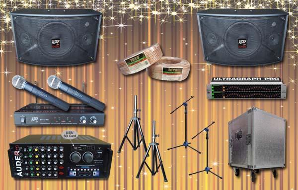 paket multi audio 9 cari sound system meeting