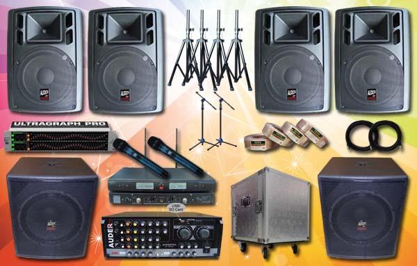 paket multimedia 1 auderpro sound system senam upacara lapangan outdoor