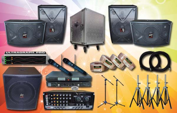 paket multimedia 6 auderpro sound system jbl yamaha peavey samson huper bose bosch