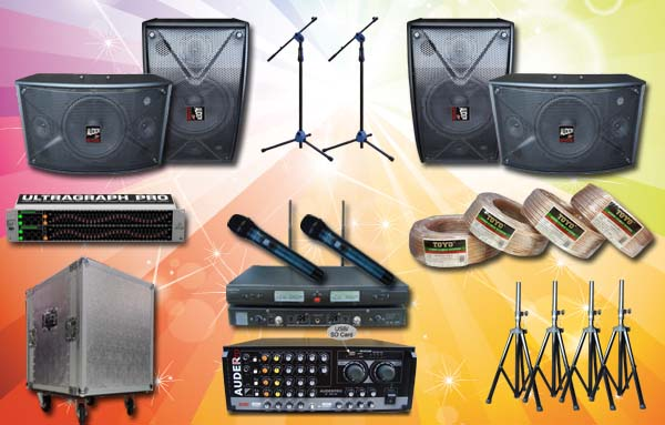 paket multimedia 9 auderpro desain denah sound system meeting rapat seminar