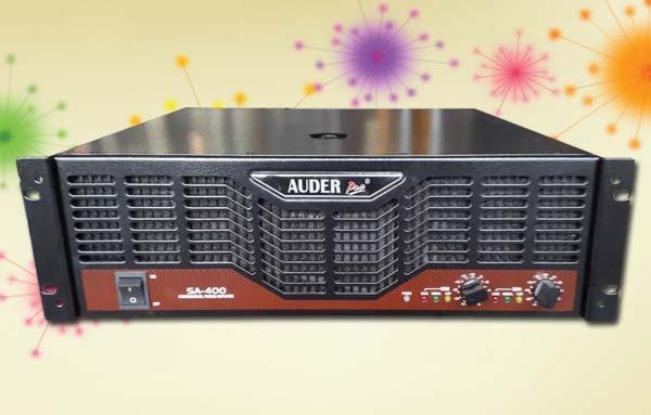 power amplifier professional auderpro sa400