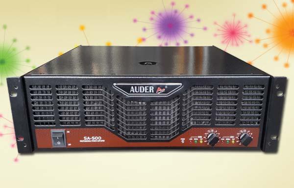 power amplifier professional auderpro sa500