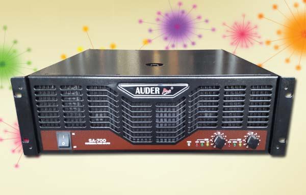 power amplifier professional auderpro sa700
